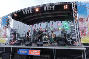 outdoor stage hire Manchester